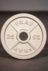 Fray Cast Iron Plate - 25 lb