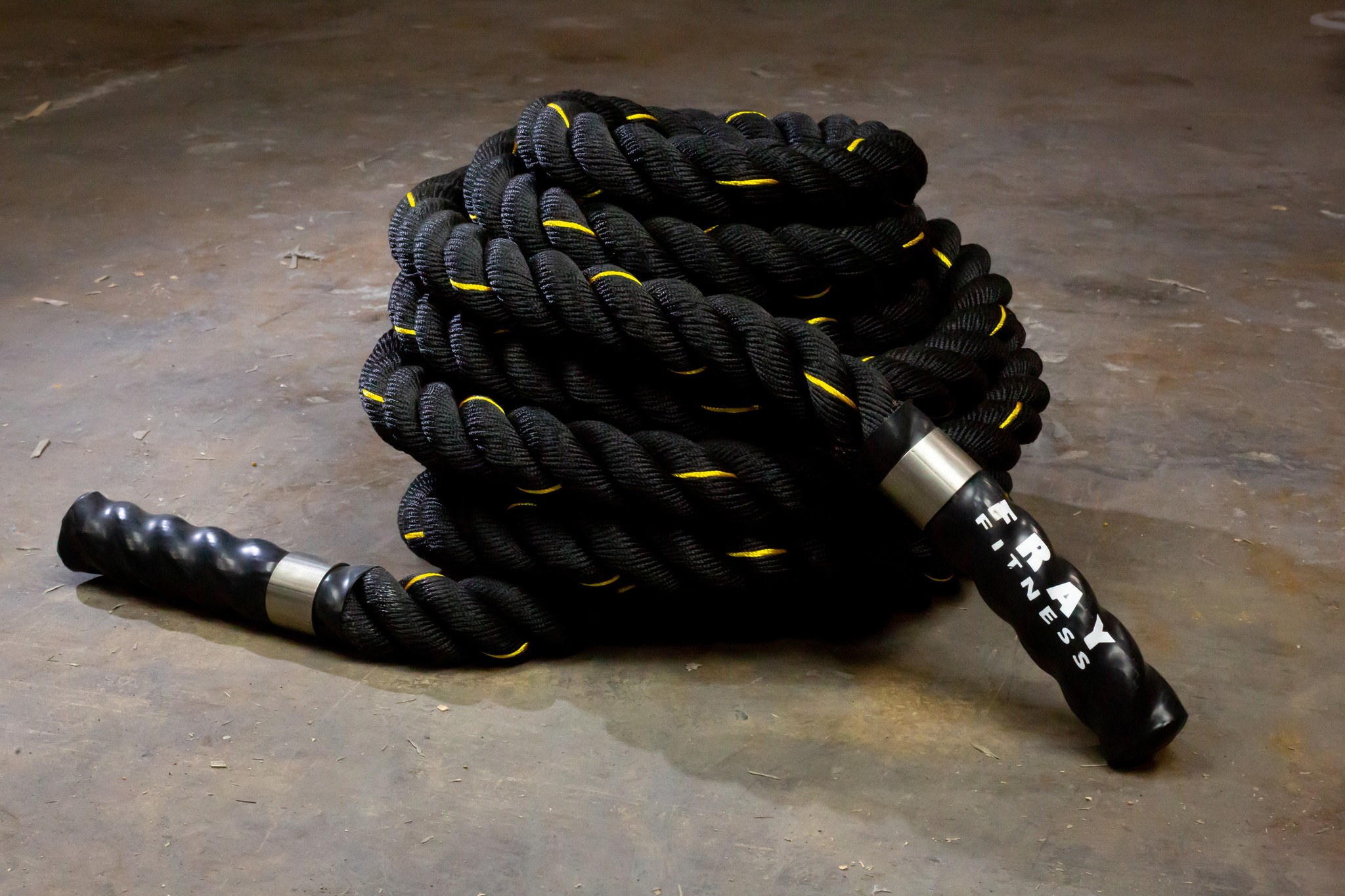 Fray Fitness battle rope