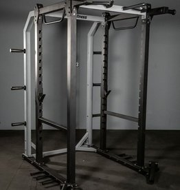 FHD Power Rack Grey And Black With Dual Landmines