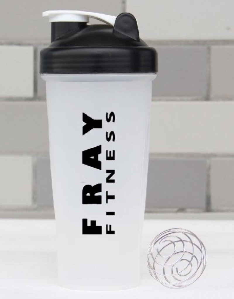 Fray Fitness protein shaker ball cup