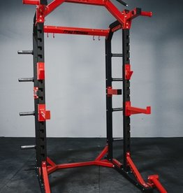 FHR1B Half Rack Black And Red