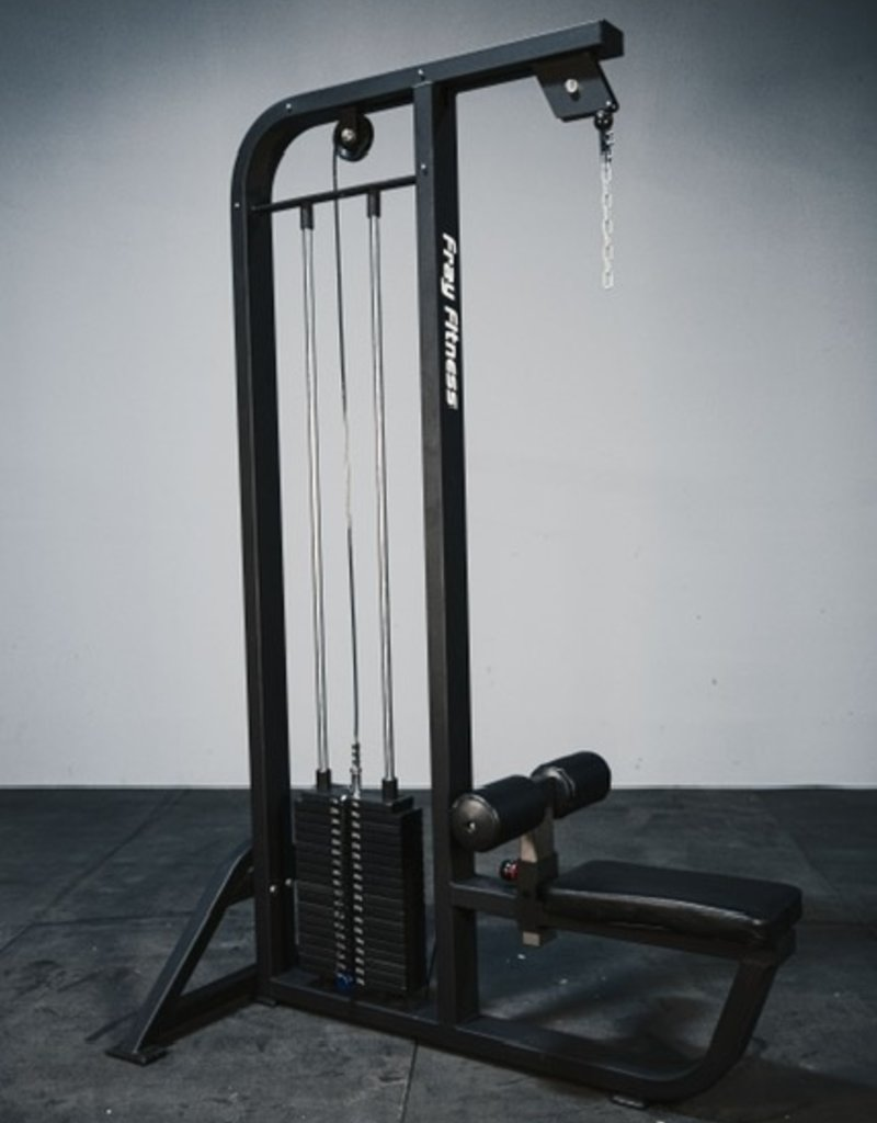 Lat Pulldown Selectorized Commercial Line (Black)