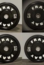 Fray Rubber Bumper Plate 230 Pound Set