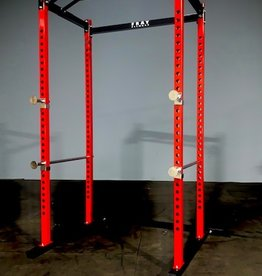 FHG2 Light Duty Home Gym Power Rack Red And Black