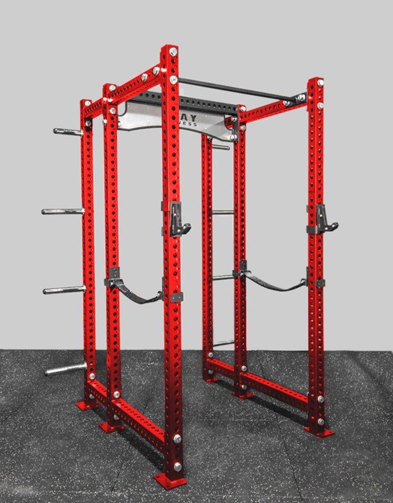 Fray F-2 Savage Series Power Rack XL (Red)