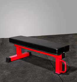 FB-02 Competition Flat Bench (Red)
