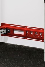 Fold Back Wall Mount Rack Stringers In Pairs (Red)