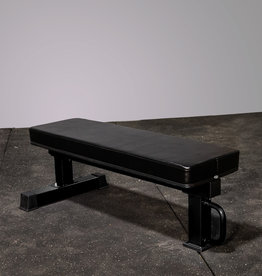 FB-02 Competition Flat Bench (Black) Wide Pad
