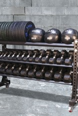 "Savage Series Storage Rack With Wheels 45"" x 70"" Dumbbell/Kettle"