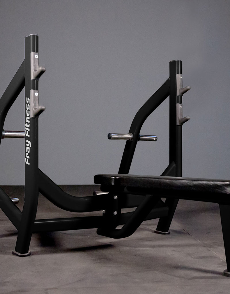 Olympic Flat Bench Press Commercial Line (Black)