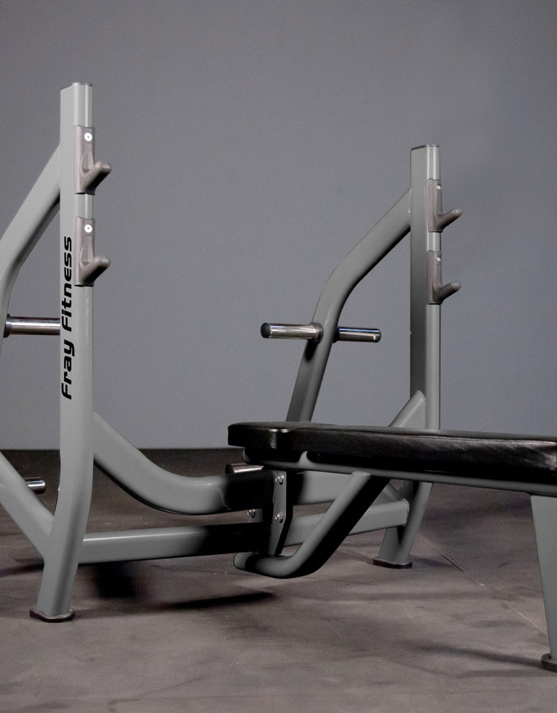 Olympic Flat Bench Press Commercial Line (Grey)