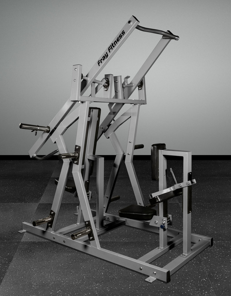 Iso-Lateral Chest Press And Lat Pulldown Combo (Grey)