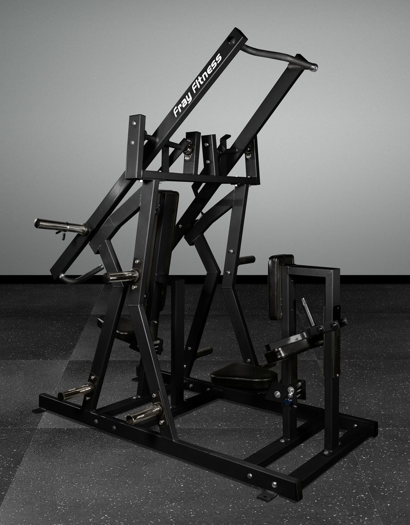 Iso-Lateral Chest Press And Lat Pulldown Combo (Black)