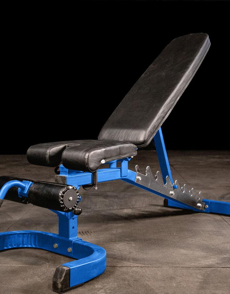 FAB-01A Incline Decline Adjustable Bench FID (Blue)