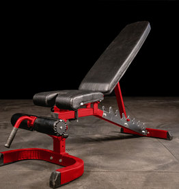 FAB-01A Incline Decline Adjustable Bench FID (Red)