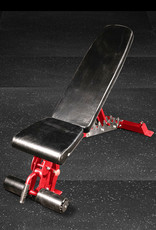 FAB-01C Incline Decline Adjustable Bench FID (Red)