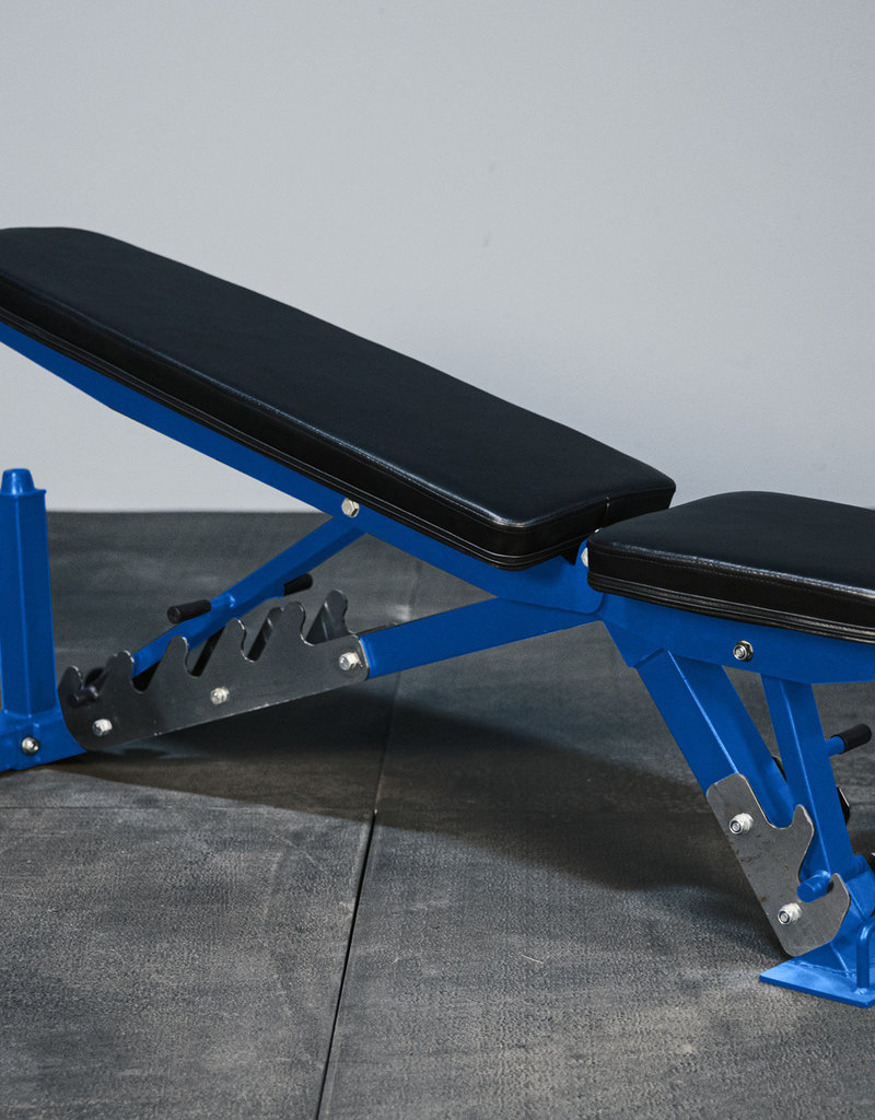 FAB Incline Flat Adjustable Bench (Blue)