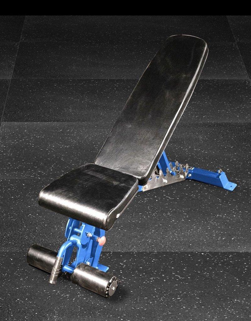 FAB-01C Incline Decline Adjustable Bench FID (Blue)