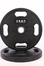 Olympic Rubber Coated Weight Plate - 45 LB