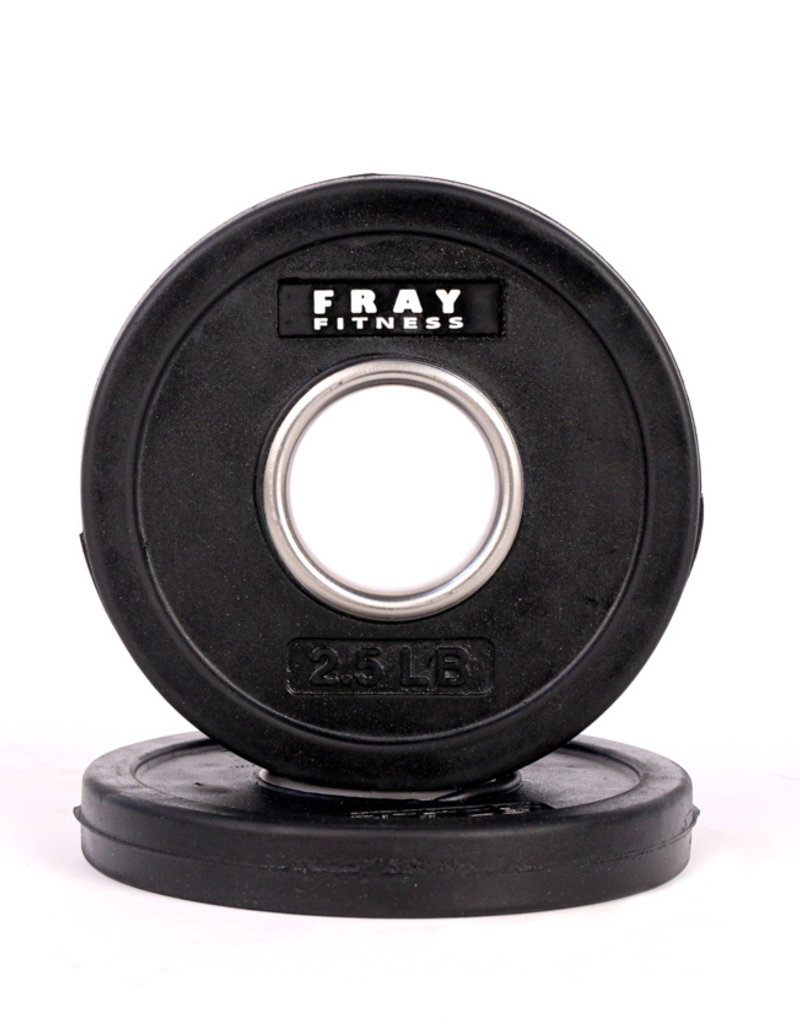 Olympic Rubber Coated Weight Plate - 2.5 LB