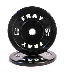 Fray Rubber Bumper Plate 15 Pound