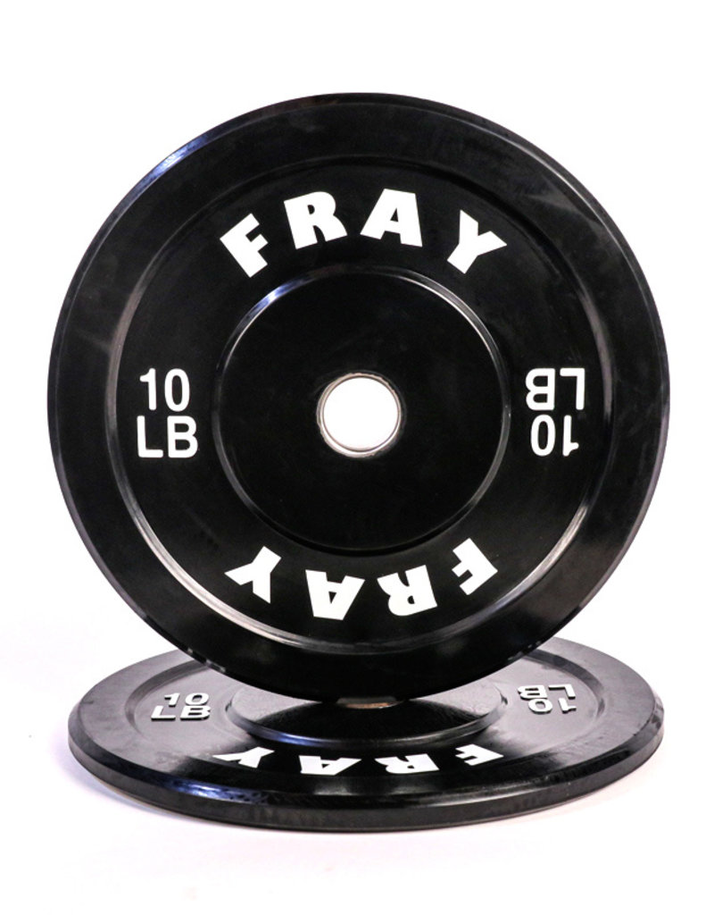 Fray Rubber Bumper Plate 10 Pound