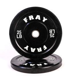 Fray Rubber Bumper Plate 25 Pound