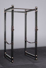 """100"""" Tall Savage Power Rack With Safety Straps (Black)"""