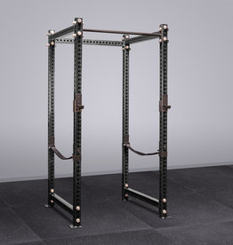 "100"" tall Power Rack With Safety Straps"