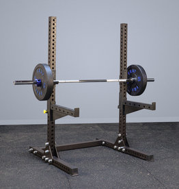 Savage Series Squat Stand (Raw Clear Coat)