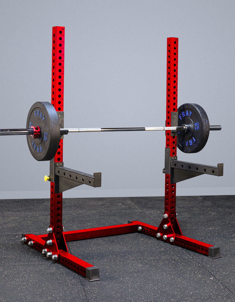 Savage Series Squat Stand (Red)