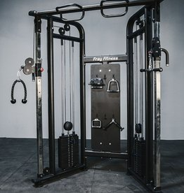 Functional Trainer Commercial Line 253 LB Weight Stacks (Black)