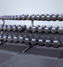 3 Tier Dumbbell Rack XL (5-100 Rack)