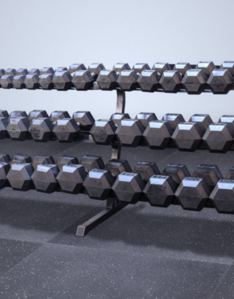 3 Tier Dumbbell Rack XL (5-100 Rack)