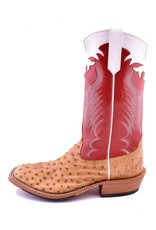 Rios of Mercedes Rios of Mercedes | Umber Bruciato Full Quill Ostrich Boot