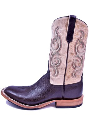 Rios of Mercedes Nicotine Smooth Quill Ostrich Boot