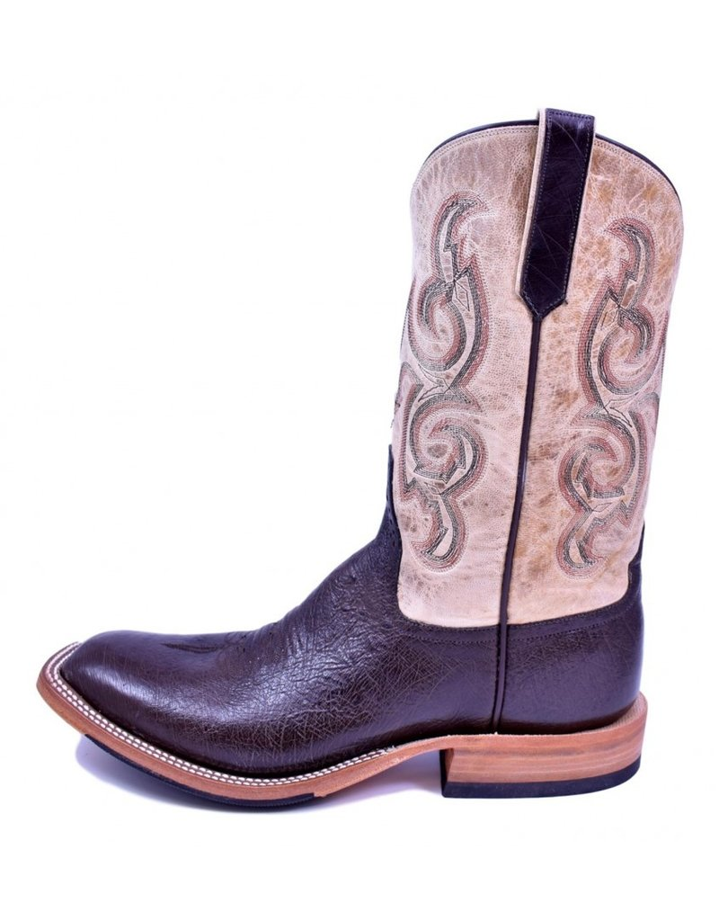 Rios Of Mercedes Rios Of Mercedes Nicotine Smooth Quill Ostrich Boot