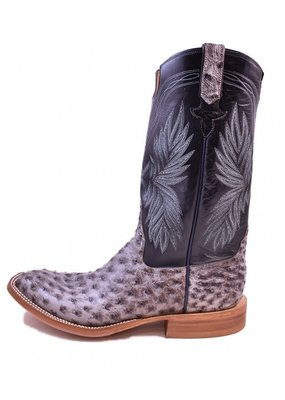 Rios of Mercedes Rio Grande Nicotine Full Quill Ostrich Boot