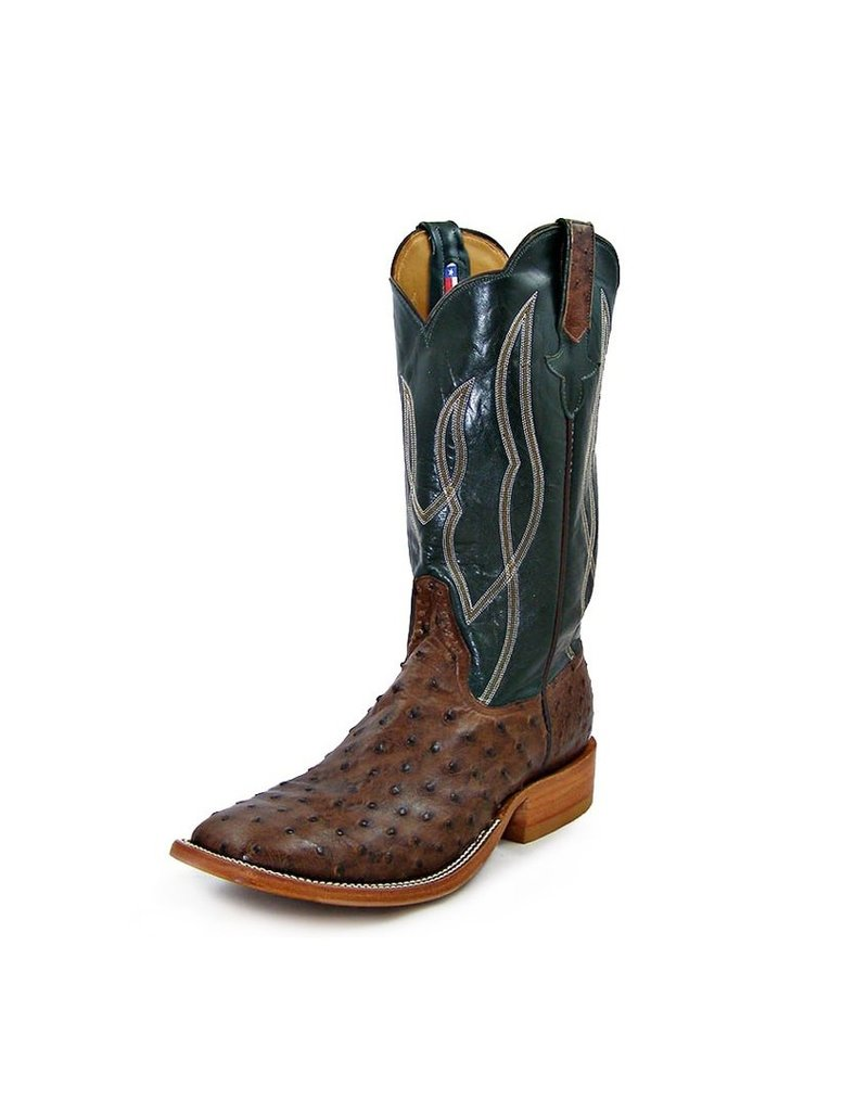 Rios Of Mercedes Rios Of Mercedes Cafe American Full Quill Ostrich Boot