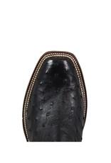Rios of Mercedes Rios of Mercedes | Black Full Quill Ostrich Cutter Toe Boot