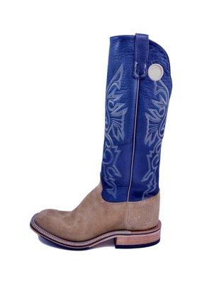 Olathe Boot Co. Olathe Boot Company   Ryan Tan Roughout Tall Top Boot