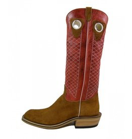 Olathe Boot Co. Olathe Boot Company | Rust Crazy Horse Roughout Tall Top Boot