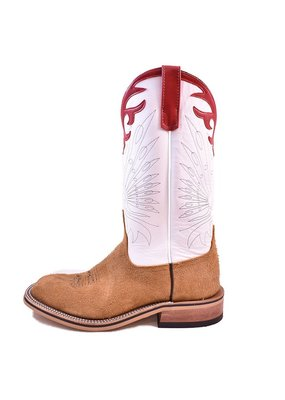 Anderson Bean Boot Company Tan Ryan Roughout Chicken Boot