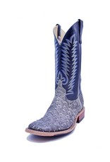 Anderson Bean Boot Company Anderson Bean | Bone Wash Out Full Quill Ostrich Boot