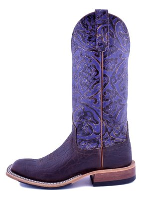 Anderson Bean Boot Company Rootbeer Yeti/Grape Antique Tool Ladies Boot
