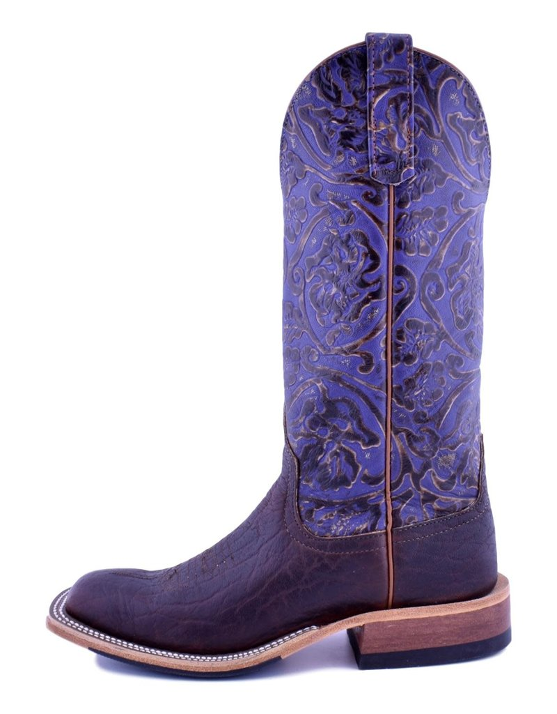 Anderson Bean Boot Company Anderson Bean | Ladies Rootbeer Yeti/Grape Antique Tool Boot