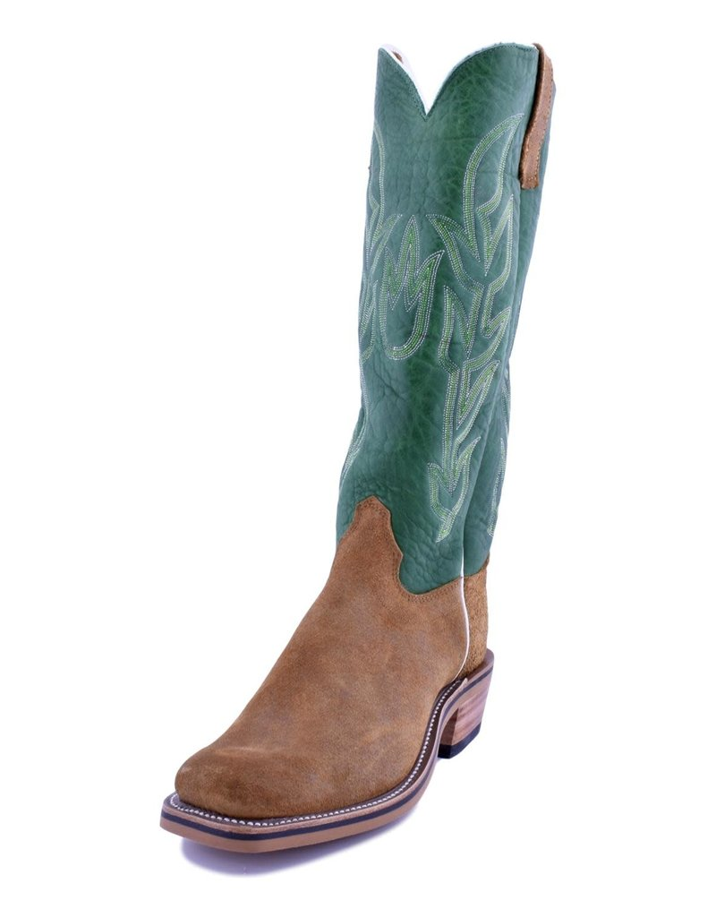 Olathe Boot Co. Olathe Boot Co. | Rust Ryan Roughout/Jade Navajo Boot