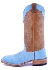 Fenoglio Boot Company Fenoglio Boot Co.   Ladies Tiffany Blue Roughout Ladies Boot