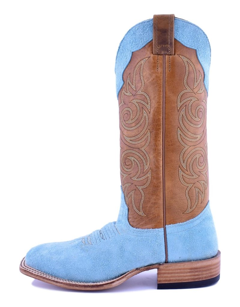 Fenoglio Boot Company Fenoglio Boot Co. Tiffany Blue Roughout Ladies Boot