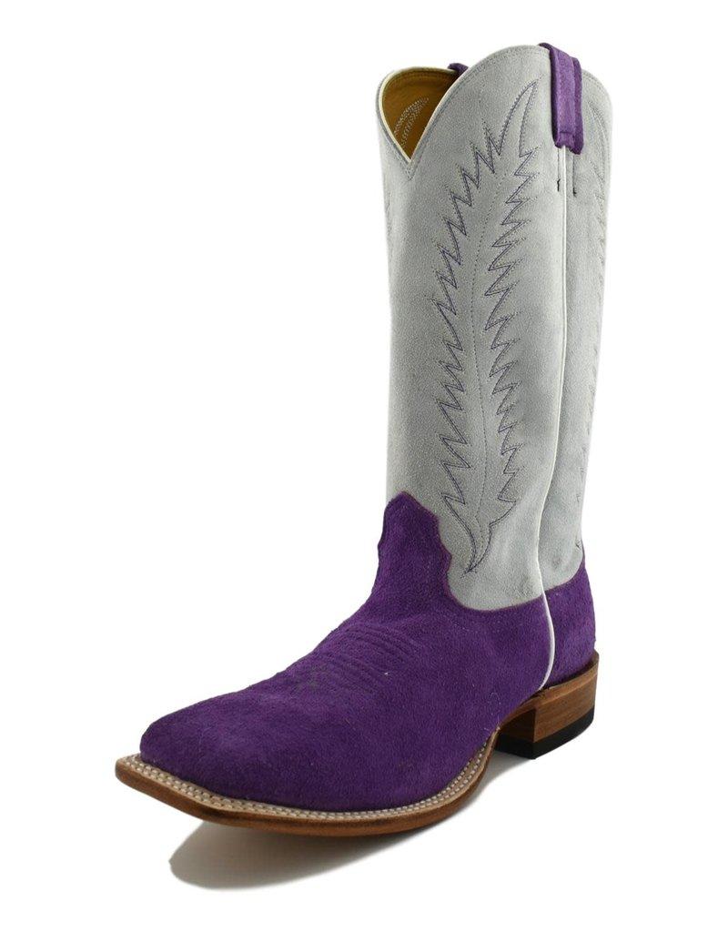 Fenoglio Boot Company Fenoglio Boot Co.   Purple Roughout Boot